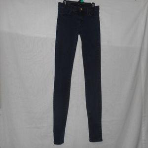 J Brand Stacked Skinny Jeans in Bluebird Sz 25